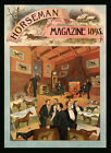 1893 Horseman Horse Magazine Cover Museum Art Vintage Poster Repro FREE S/H