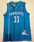 Alonzo Mourning Charlotte Hornets #33 Jersey Adult Men Size