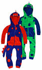 Boys Novelty Dinosaur Onesie Kids Animal All In One Costume New Age 2 - 6 Years