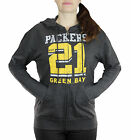 Green Bay Packers NFL Women's Established 1921 Full Zip French Terry Hoodie