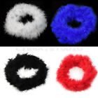 New 2M Feather Boas Fluffy Party Decoration Women Costume Dress Up Xmas Gift