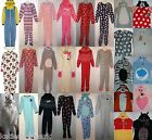 PRIMARK LADIES ADULT ALL IN ONE SLEEP SUIT ONESIE PYJAMAS ROMPER UK 6 - 20 NEW
