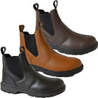MENS SAFETY DEALER STEEL TOE CAP CHELSEA ANKLE HIGH WORK BOOTS SHOES SIZE