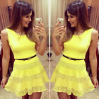Sexy Women Summer Casual Mini Dress Sleeveless Evening Cocktail Short Dress New