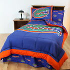 Florida Gators Bed in a Bag Curtains & Valance Twin Full Queen King Size