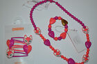 NWT Gymboree Girl Fox & Heart Beaded Necklace Bracelet or Clips Barrette