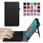 """Leather Case Cover with Removable Bluetooth Keyboard For Dragon Touch M10X 10.1"""""""