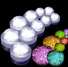 Submersible Waterproof Battery Candle Tea Lights Including Water Beads Gel Balls