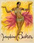 Josephine Baker Dancer Show Theater France French 16X20 Vintage Poster FREE S/H