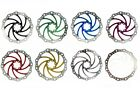 160mm 6in Vibe Disc Brake Rotor 6 Bolt IS Fixing Tough Stainless - 9 Colours