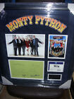 MONTY PYTHON  LONDON O2 IDLE,CLEESE,PALIN,GILLIAM,JONES,  SIGNED MONTAGE AFTAL