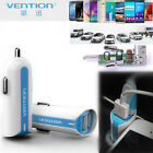VENTION Dual USB 2-port DC 2.4A Mini Car Auto Power Adapter Charger For Phone