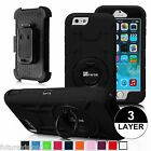 Defender Impact Case Cover Holster Belt Clip For Apple iPhone 6 / iPhone 6S Plus