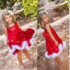Lovely Baby Girls Christmas Dress Christmas Party Dress Kids Gifts Xmas Gifts