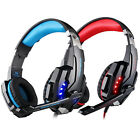 EACH G9000 Gaming Headset USB 3.5mm LED Stereo Headphone with Mic for PC Laptops
