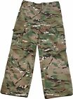 NEW HIGHLANDER PRO FORCE HMTC KIDS CAMO COMBAT TROUSERS,MULTI TERRAIN CAMOUFLAGE