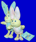 """CABBAGE PATCH KIDS CPK VTG 1985 BUNNY BEE BLUE OR PINK PLUSH 16"""" ZAVIER ROBERTS"""