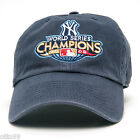 NEW YORK YANKEES 2009 WORLD SERIES CHAMPIONS FRANCHISE FITTED 100%COTTON MLB CAP