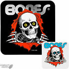 POWELL PERALTA / BONES Ripper Skateboard sticker 13cm Snowboard Black or Clear