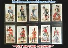☆ Carreras - History of Army Uniforms 1937 (G) ***Pick The Cards You Need***