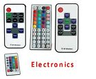 New For 3528 5050 RGB LED Strip Light 10/24/44 Key IR Remote Wireless Controller