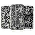 HEAD CASE BLACK LACE SOFT GEL CASE FOR SAMSUNG GALAXY S5 NEO