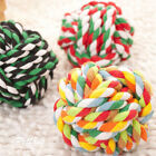 HOT Pet Puppy Knot Twine ball Rope Dogs Cottons Chews Toy Ball Play Braided Bone