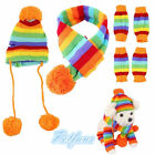 Puppy Winter Costume Warm Scarf Knitted Hat Pet Dog Apparel Cap Collar Clothes