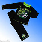 Boys Marvel Incredible Hulk Avengers Assemble  Pyjamas Age 4-10 Years Black