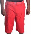 Rocawear Men's Big & Tall True Red W/Belt Cargo Shorts