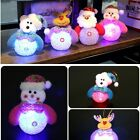 Santa Claus LED Light Hang Hanging Christmas Decoration Doll Xmas Tree Ornaments