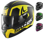 Shark Skwal Trion Motorcycle Helmet LED Full Face Bike Crash Internal Sun Visor