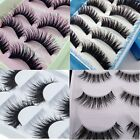 5 Pair Natural Makeup Thick Eyelashes Soft Long Fake False Eye Lashes Extension