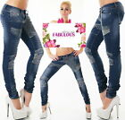 Sexy Women's Skinny Designer Jeans Hot Denim Pants Size 6 8 10 12 14 XS S M L XL