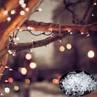 100-1000 LEDs Fairy String Lights Indoor/Outdoor New Year Christmas Wedding UK