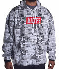 Alife Men's $98 Wall Paper Pull Over Hoodie Size Large