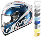 Shark Race-R Pro Guintoli Replica Motorcycle Helmet & Visor Racing Bike ECE ACU