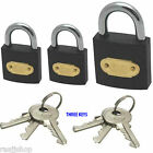 BOXED WATERPROOF HEAVY DUTY HIGH QUALITY METAL SECURITY PADLOCK INDOOR/OUTDOOR
