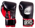 Cleto Reyes Hybrid Lace & Hook and Loop Boxing Gloves (Black)