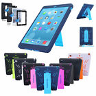 Shockproof Hybrid Heavy Duty Survivor Military Hard Case Cover For iPad 2 3 4