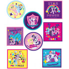 My Little Pony Round And Square Patches Woven Iron on Sew On Motif Applique