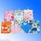 New Super Soft Cuddle Fleece Baby Blanket Comforter Dispatched from the UK