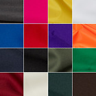 100% Plain Polyester Twill 150cm Wide Dressmaking Fabric