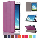 Luxury Magnetic Leather Flip Kickstand Smart Case Cover For HUAWEI MediaPad M1