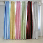 HI 2x Luxury Home Blockout Blackout Flower Eyelet Ring Top Window Curtains Drape