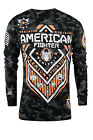 American Fighter North Dakota Long Sleeve Shirt (Black/Camo/Orange)