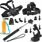 EEEKit Head/Chest/Car Windshield/Floaty/Monopod Mount for Action Sports Camera