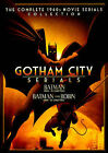 Dark Knight Serials: Batman / Batman & Robin DVD Region 1, NTSC