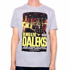 Dr Who T Shirt - Dr Who & The Daleks Classic Movie Poster Design 100% Official !