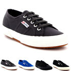 Mens Superga 2750 Cotu Classic Low Top Lace Up Plimsolls Casual Trainers UK 7-12